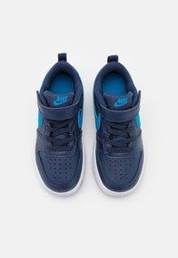 Nike Sportswear - COURT BOROUGH 2 UNISEX - Baskets basses - midnight navy/imperial blue/black - 3