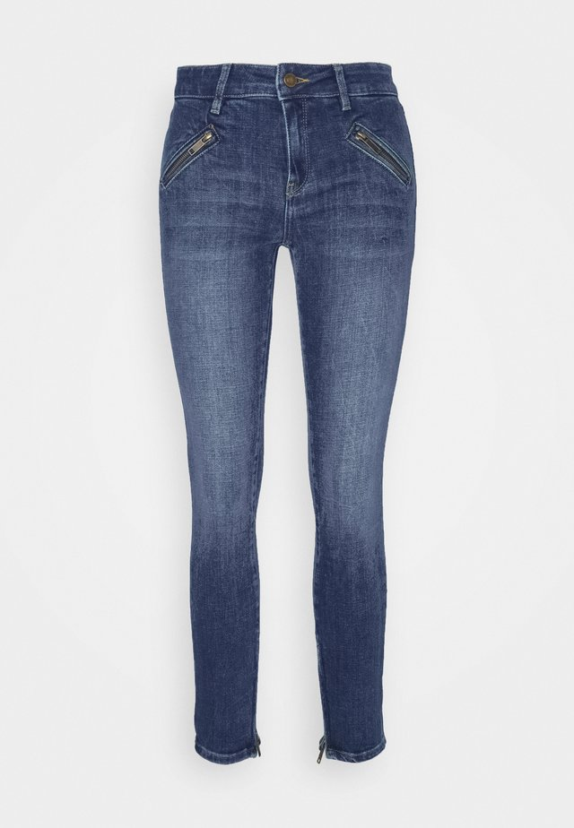 TAYLOR ANKLE WASH BRIGHT ALICANTE - Jeans Skinny Fit - denim blue