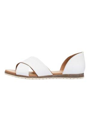 CROSS OVER  - Sandals - white