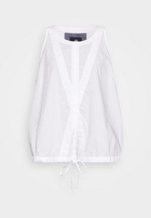 UTILITY OPENBACK - Blouse - white