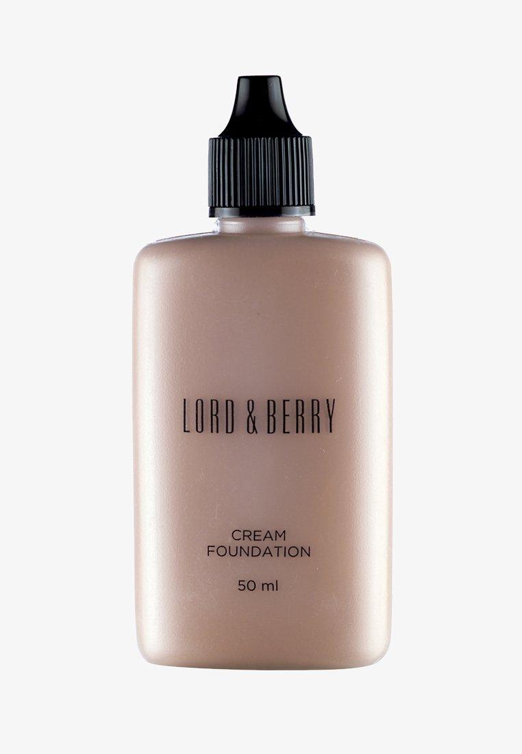 Lord & Berry - CREAM FOUNDATION - Foundation - foundation espresso