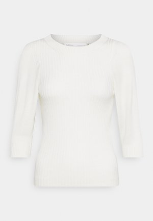 ILZE PUFF - Jumper - whisper white