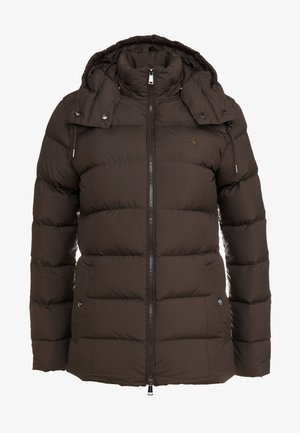 MATTE FINE POLY - Down jacket - equine brown