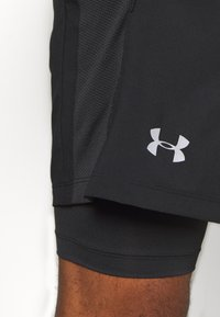 Under Armour - LAUNCH 2-IN-1 SHORT - kurze Sporthose - black - 5