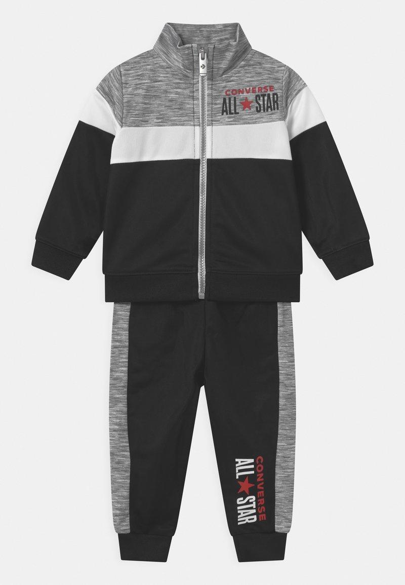 Converse - COLORBLOCK ALLSTAR SET UNISEX - Training jacket - black