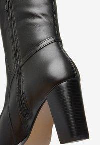 Next - TAN SIGNATURE  - High heeled boots - black - 5