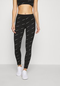 Champion - LEGGINGS LEGACY - Leggings - black - 0