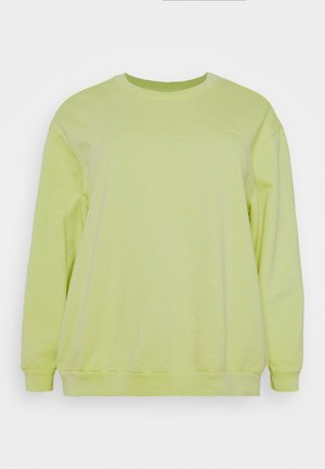 MELROSE SLOUCHY CREW - Collegepaita - shadow lime