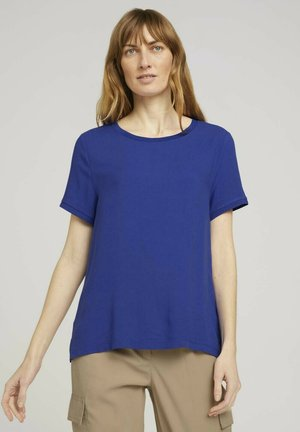 Camiseta básica - anemone blue