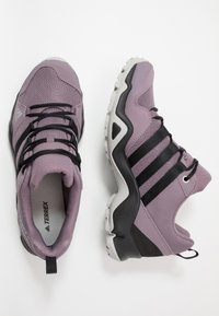 adidas Performance - TERREX AX2R - Hiking shoes - legend purple/core black/grey two - 0