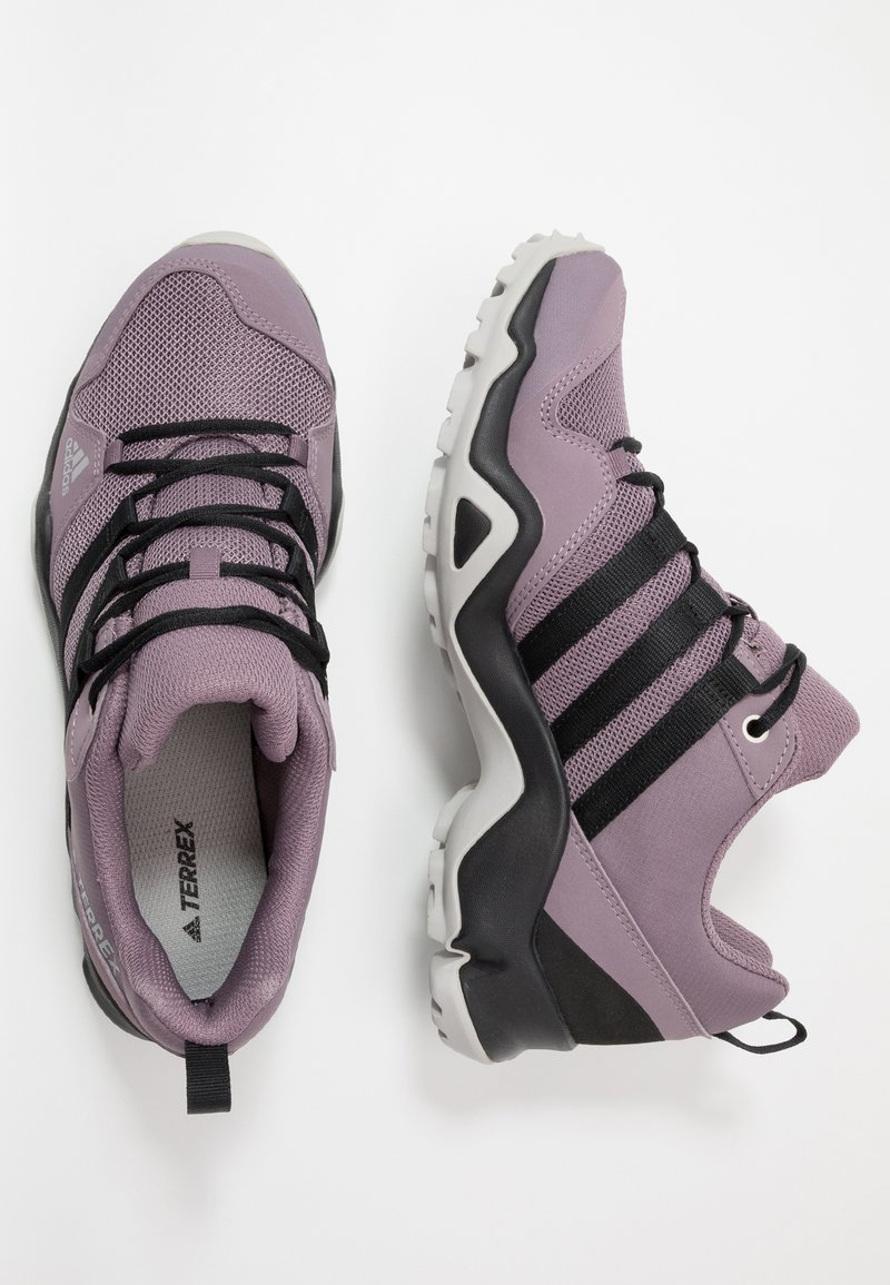 adidas Performance - TERREX AX2R - Hiking shoes - legend purple/core black/grey two