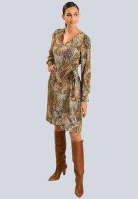 Alba Moda - Day dress - camel beige schwarz - 1