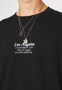 Topman - LOS ANG HERITAGE - Sweatshirt - black - 4