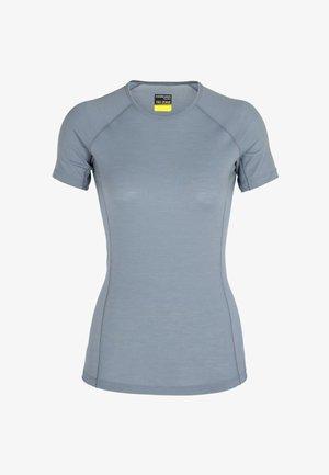ZONE  SS - Camiseta estampada - gravel