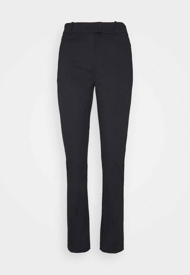 CIGARETTE PANTS - Pantalon classique - pure black