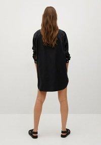 Mango - Button-down blouse - zwart - 2