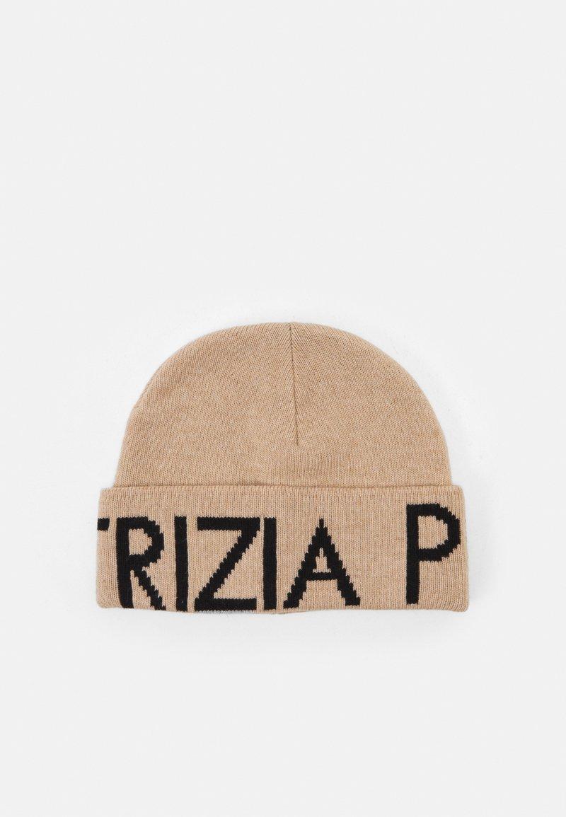 Patrizia Pepe - CAPPELLO/HAT - Beanie - pompei beige\black