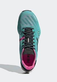 adidas Performance - TERREX SPEED PRO TRAIL RUNNING - Zapatillas de trail running - green - 4