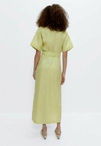 Uterqüe - Shirt dress - green - 1
