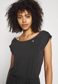 Ragwear - ETHANY - Jersey dress - black - 3