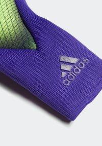 adidas Performance - X PRO GOALKEEPER GLOVES - Goalkeeping gloves - green - 3
