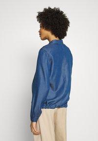 s.Oliver - Džínová bunda - blue denim - 2