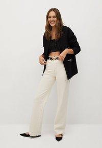 Mango - CANELA - Summer jacket - schwarz - 1