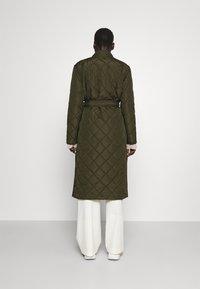 Bruuns Bazaar - AZAMI LINETTE COAT  - Winter coat - green night - 2