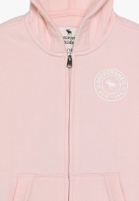 Abercrombie & Fitch - Zip-up hoodie - pink - 4