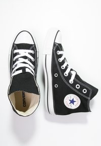 Converse - CHUCK TAYLOR ALL STAR HI - Baskets montantes - black - 2