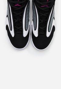 Jordan - AIR  - High-top trainers - black/cactus flower/smoke grey/white - 4