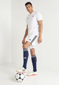 adidas Performance - TAN - Krótkie spodenki sportowe - white - 1