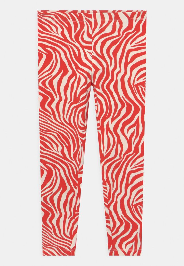 MINI  - Leggings - Trousers - red