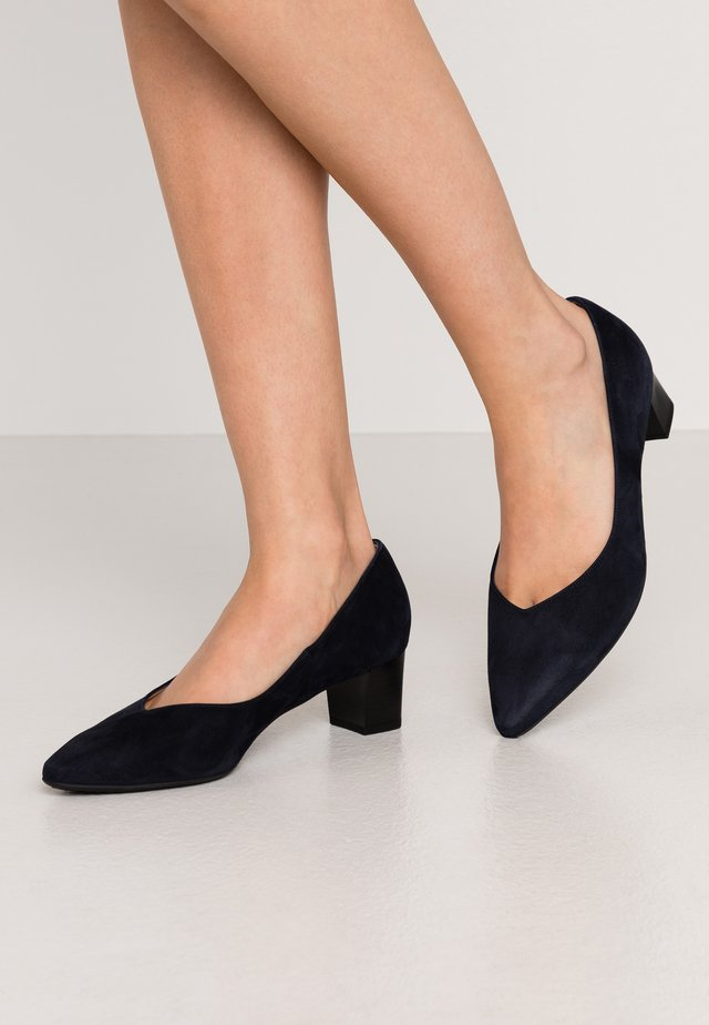 BIRTE - Escarpins - navy