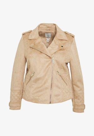 Veste en similicuir - brown light