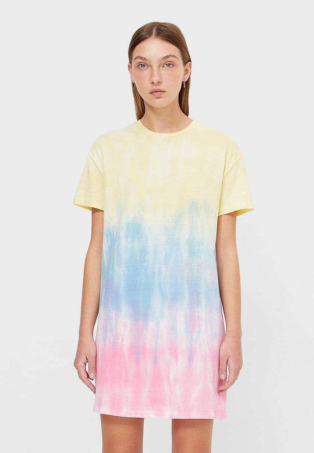 Žerzejové šaty - multi-coloured