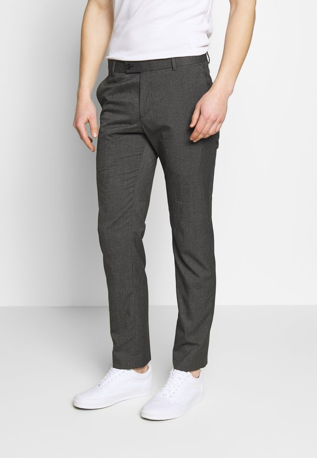 MICRO - Trousers - charcoal