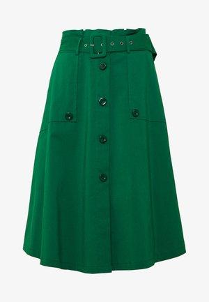 EXCLUSIVE SUMMER SKIRT - A-line skirt - ocean green