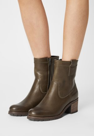 Classic ankle boots - khaki/green