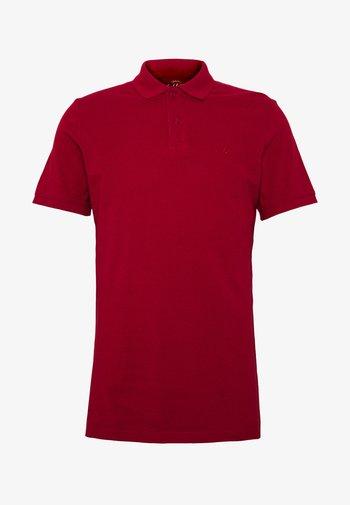 JJEBASIC - Polo shirt - rio red