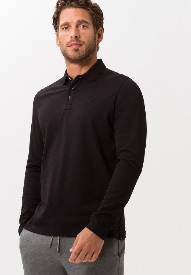 STYLE PHOENIX - Polo shirt - black