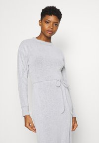 Topshop - COSEY BELTED MIDI - Jumper dress - grey - 3