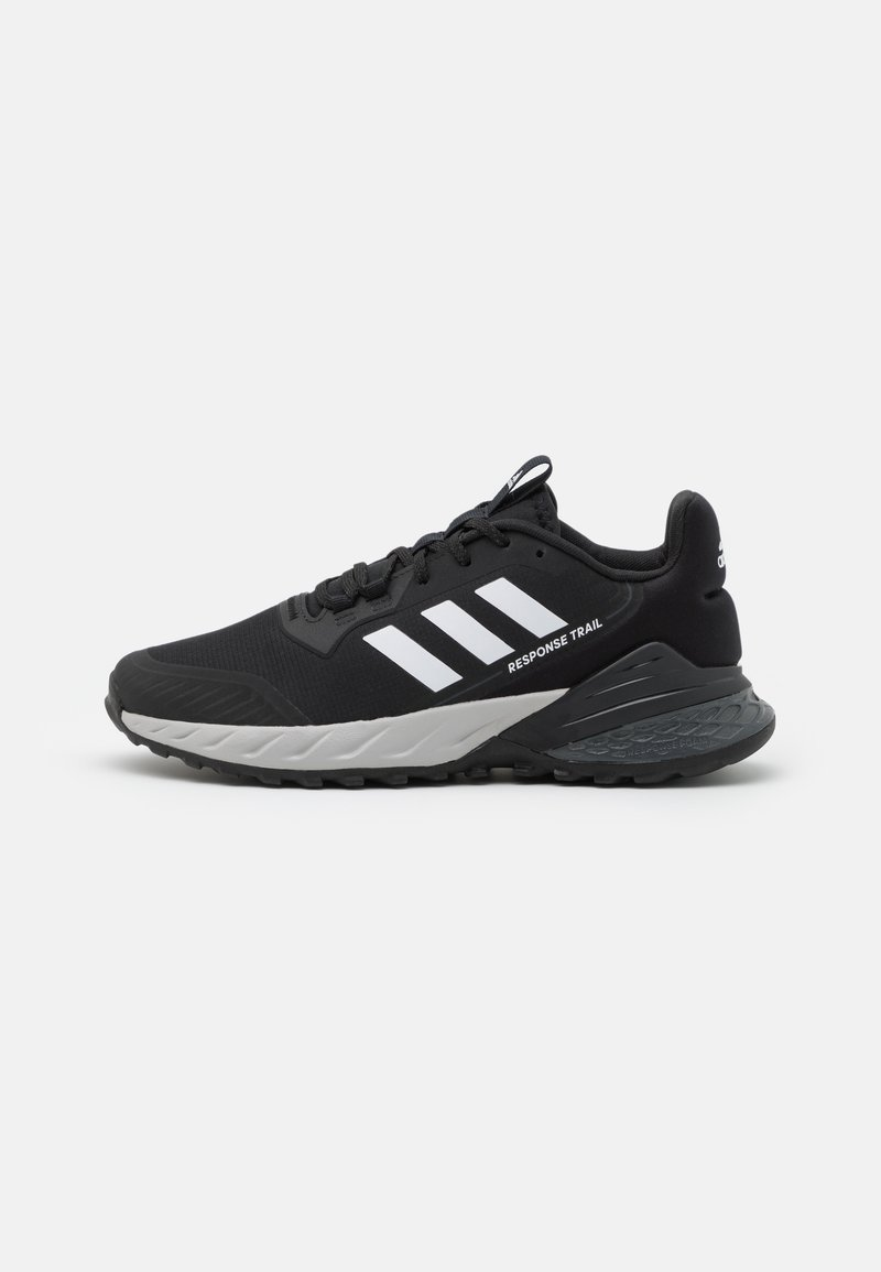 adidas Performance - RESPONSE TRAIL 2.0 - Löparskor terräng - core black/footwear white/grey six