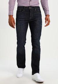 Jack & Jones - JJCLARK - Jeans straight leg - blue denim - 0
