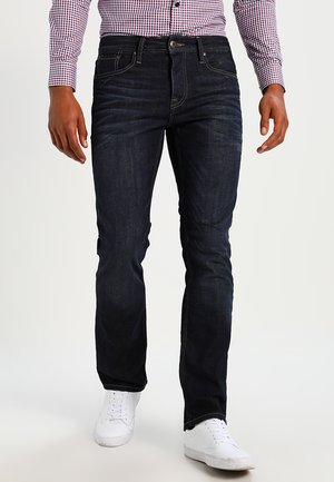 JJCLARK - Džíny Straight Fit - blue denim