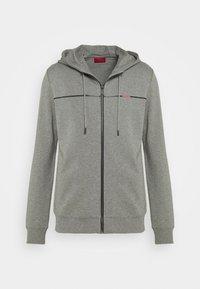 DAPIE - Zip-up sweatshirt - open grey