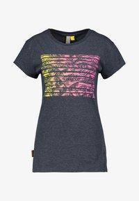 alife & kickin - MAXINEAK - Print T-shirt - marine - 5