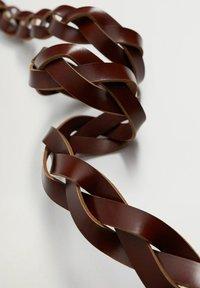 Mango - DAVID - Pletený pásek - bruin - 3