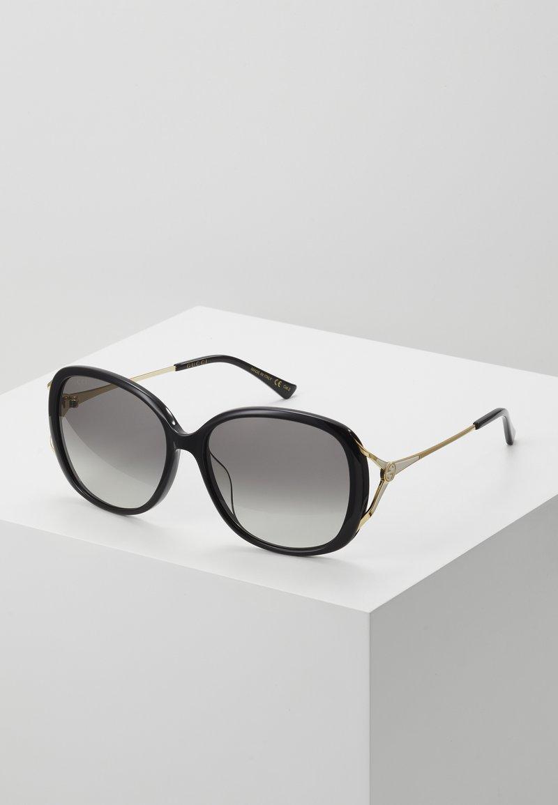 Gucci - Sluneční brýle - black/gold-coloured/grey