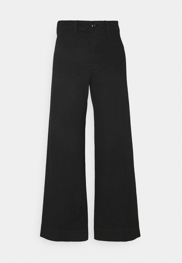 FULL LENGTH WIDE LEG - Jeans baggy - true black
